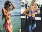 Tatiele Polyana ganha quatro quilos e entra na dieta: 'Perdi a definição'