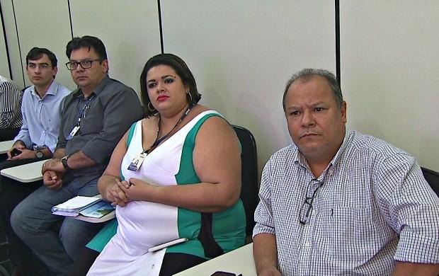 Representantes dos órgãos estiveram na Rede Amazônica no Acre (Foto: Acre TV)