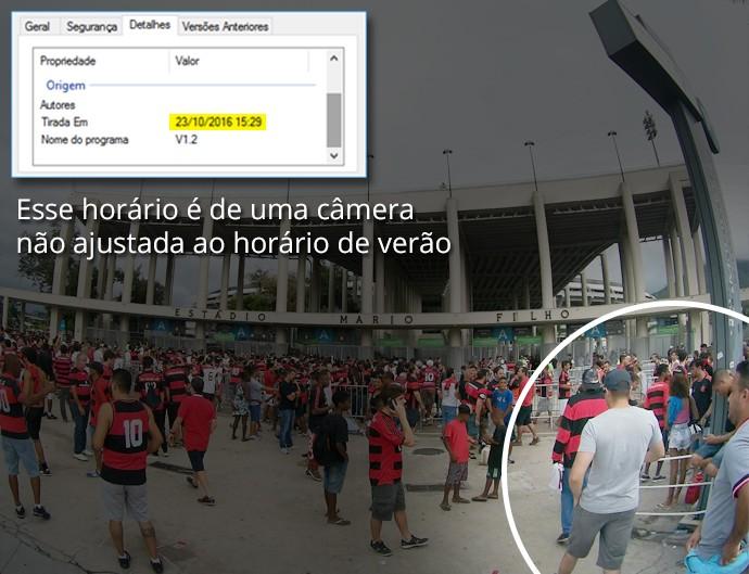 Imagens-TORCEDORES-Corinthians-fora-do-estadio-03 (Foto: infoesporte)