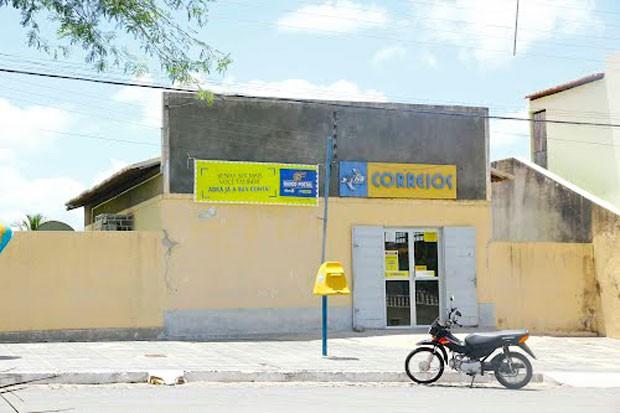 Agência dos Correios em Patu foi alvo de criminosos na manhã desta quinta-feira (24) (Foto: Blog Patu 24 Horas)