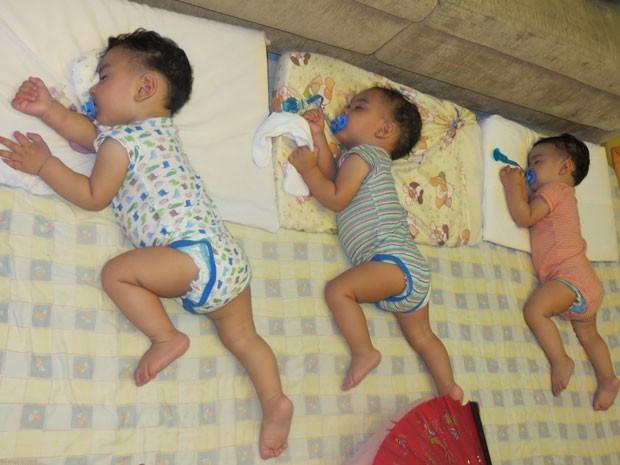 O desafio de fazer o bebê dormir sem ninar (Foto: Arquivo Pessoal)