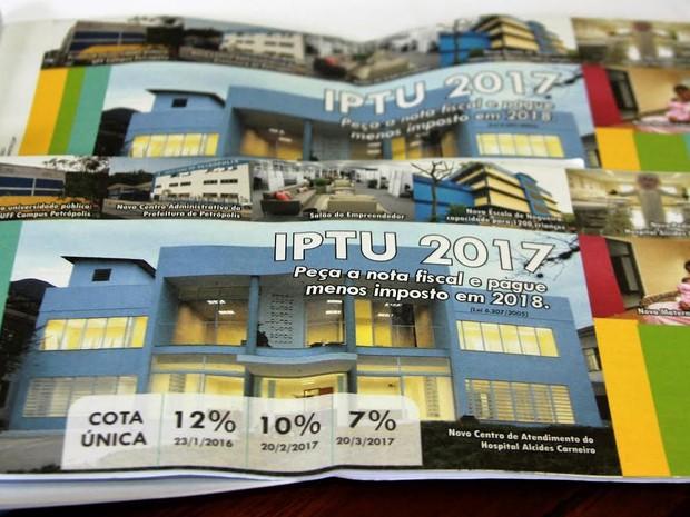 Petrópolis já arrecadou R$ 37,7 milhões com o imposto (Foto: Divulgação / Ascom Petrópolis)