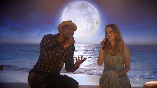 Noites de Luar: Sandy e Buchecha cantam sucesso de Hyldon de 1975