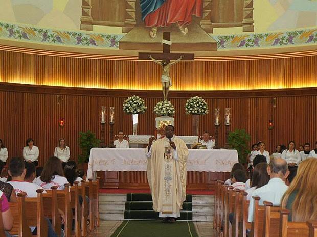Padre ficou um ano e dez meses em Adamantina, na Paróquia Santo Antônio (Foto: Wilson Luís Ramos/Arquivo pessoal)