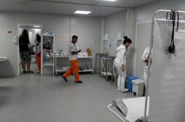 A enfermaria do Rock in Rio fez 4826 atendimentos no primeiro fim de semana (Foto: Acyr Mera Junior/ ÉPOCA)