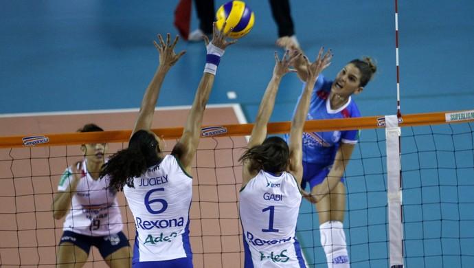 Minas x Rio Superliga Feminina (Foto: Orlando Bentos/ Minas Tênis)