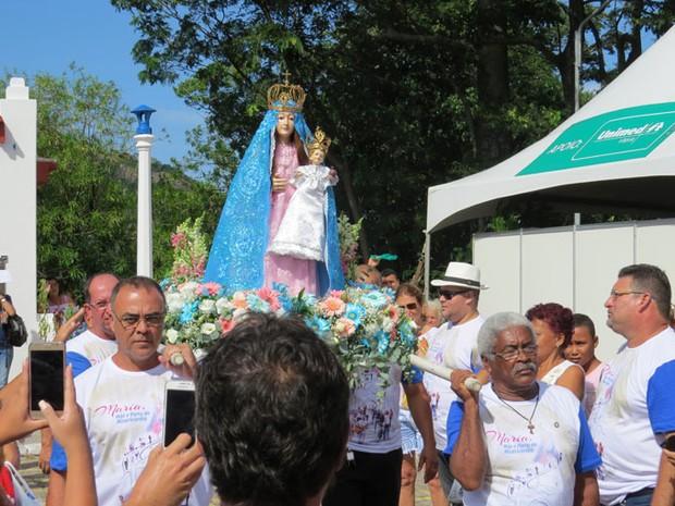 Imagem de Nossa Senhora da Penha (Foto: Divulgação/ Convento da Penha)