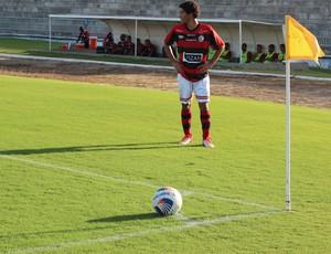 Fábio Gama, meia Campinensen (Foto: Cisco Nobre / GloboEsporte.com)