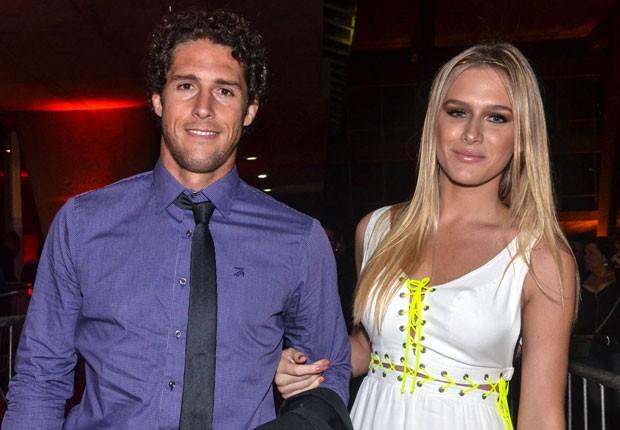 Flávio Canto e Fiorella Mattheis (Foto: Photo Rio News)