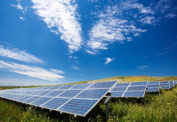 Energia solar (Foto: Thinkstock)