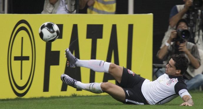 Fagner Corinthians Oeste (Foto: Daniel Augusto Júnior/Ag. Corinthians)