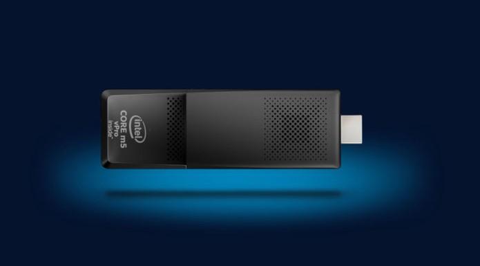 Compute Sticks da Intel tem conexão Wi-Fi e Bluetooth (Foto: Divulgação/Intel)