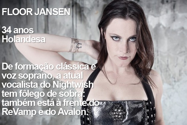 Floor Jansen (Foto: Divulgação / Site da cantora / Richard Stark)