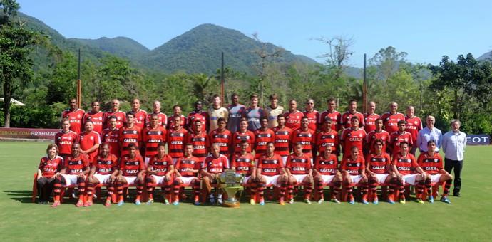 elenco Flamengo (Foto: Alexandre Vidal/Fla Imagem)