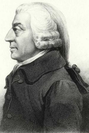 Adam Smith, pensador do liberalismo econômico (Foto: Reprodução)