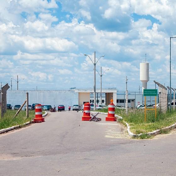 Penitenciária  de Três Corações.Lá Dirceu aguarda o julgamento por homicídio qualificado (Foto: Rogério Cassimiro/ÉPOCA)
