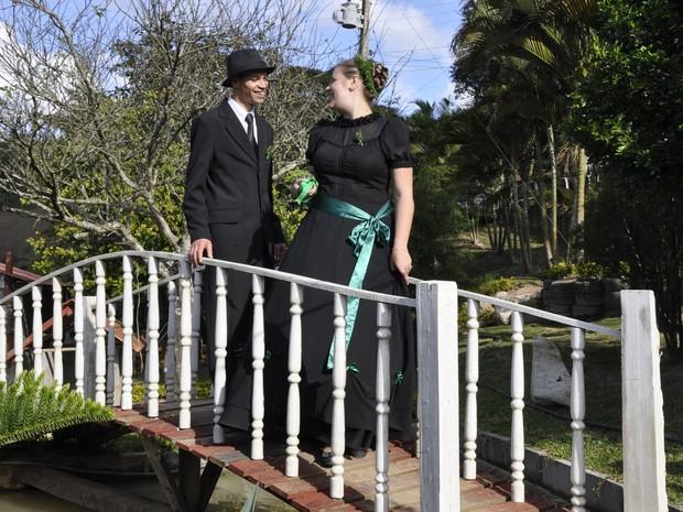G1 - Noivas se casam de preto para manter tradição pomerana