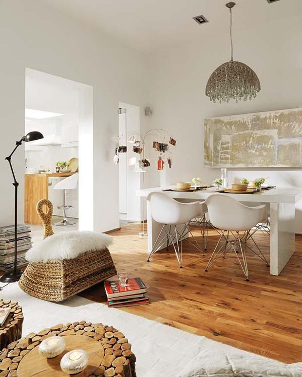 Eclectic Decorating Style Home Decor Vintage Small Kitchen: Décor Do Dia: Estilos Diversos Sem Esforço
