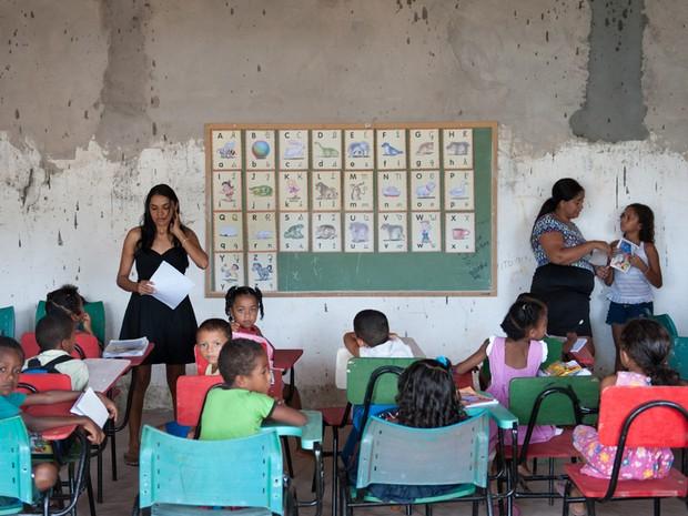 Escola em Codó, Maranhão. (Foto: AP Photo)