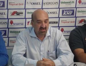 Fernando Costa Neto, presidente do São Bento (Foto: Emílio Botta)
