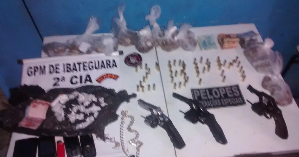 Polícia militar prende suspeitos de assaltar casa lotérica em ... - Globo.com