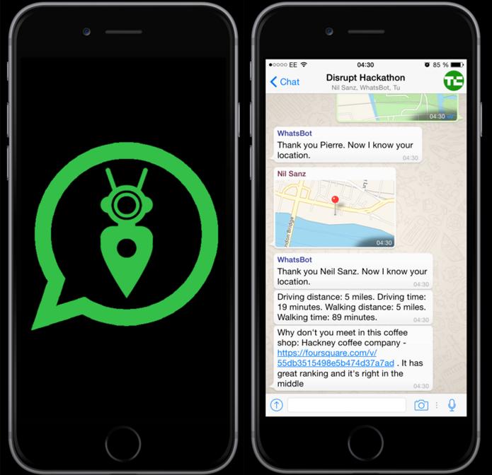 Banido, assistente do WhatsApp criado por desenvolvedores independentes durou 24 horas (Foto: Reprodução/TechCrunch)