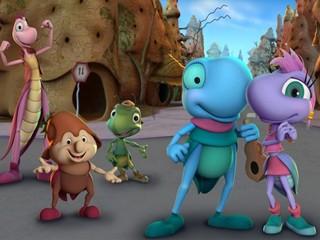 Na TV Globinho, uma animação nacional (Foto: Divulgação)