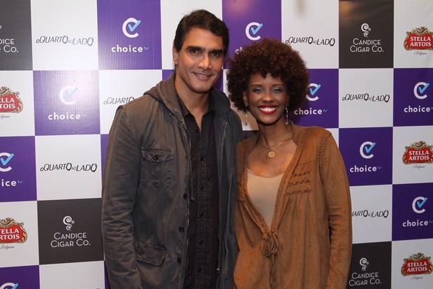 Rafael Calomeni e Isabel Fillardis (Foto: Anderson Borde/AgNews)