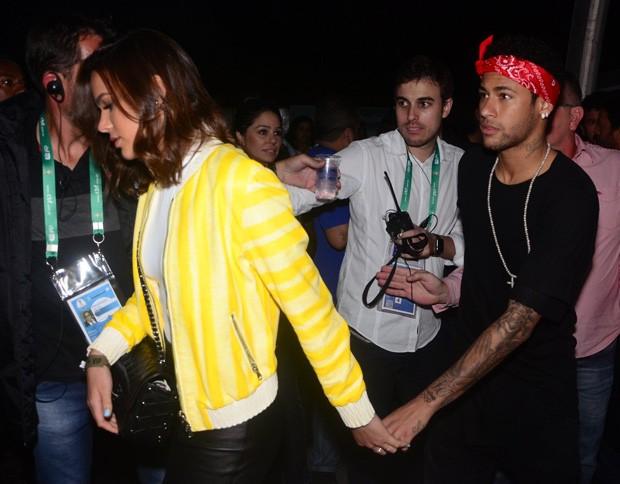 Bruna Marquezine e Neymar (Foto: Eduardo Martins/AgNews)