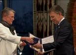 Presidente da Colômbia recebe o Prêmio Nobel da Paz