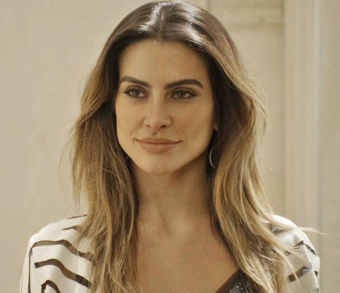 Tamara decide procupar Apolo para comunicar importante decisão (Foto: TV Globo)