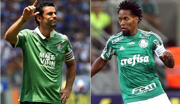 Fluminense e Palmeiras se enfrentam na primeira semifinal da Copa do Brasil (Foto: Divulgação)