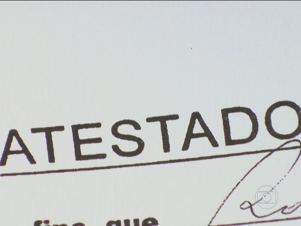 BDBR - Atestado (Foto: Rede Globo)