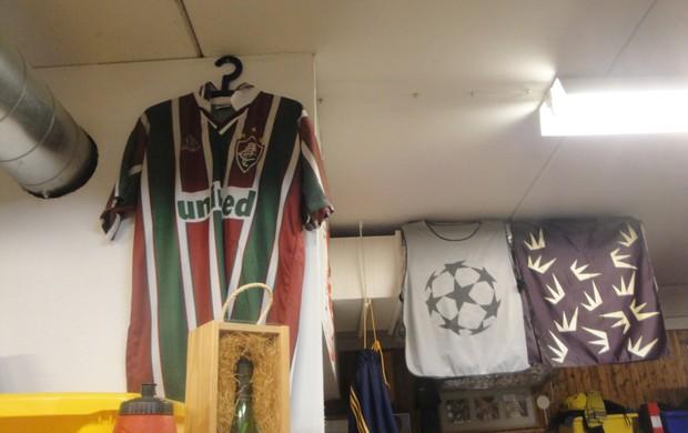 fluminense camisa Rasunda suécia (Foto: Rafael Maranhão/Globoesporte.com)