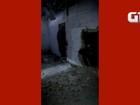 Vídeo e fotos mostram destruição no CDP de Santa Cruz, RN; veja imagens