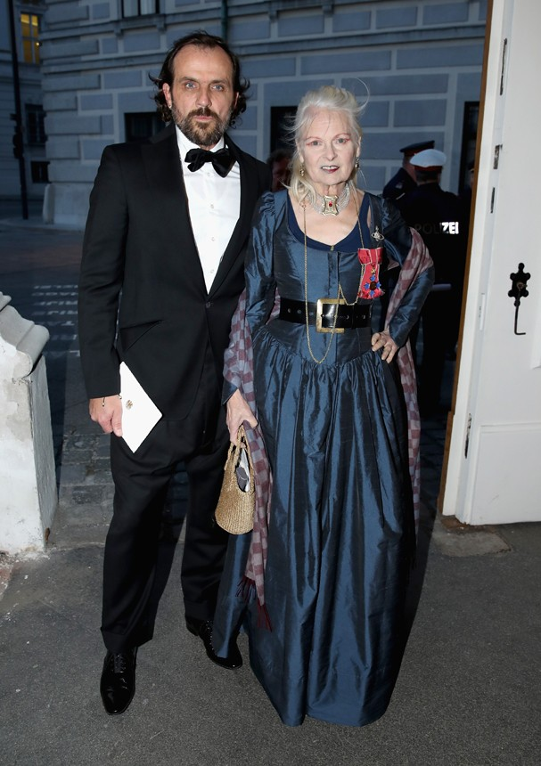 Vivienne Westwood e Andreas Kronthaler (Foto: Getty Images)