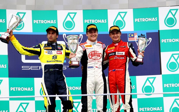 Felipe Nasr GP2 gp da malásia (Foto: Paolo Pellegrini)