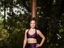 Nathalia Serra mostra treino de muay thai que queima até mil calorias