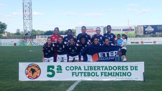 São José Futebol Feminino - Libertadores (Foto: Gustavo Assad / Divulgação)