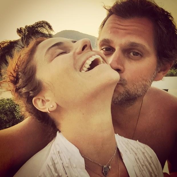 Leonardo Nogueira e Giovanna Antonelli (Foto: Reprodução/Instagram)