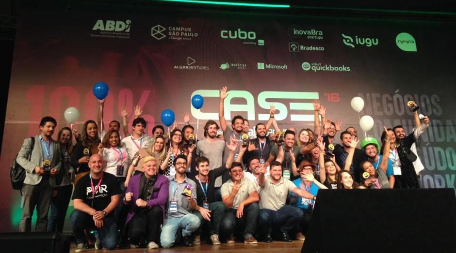 Vencedores do Startup Awards 2016 (Foto: Divulgação)