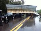 Dois acidentes na BR-381 formam um congestionamento de 10 quilômetros
