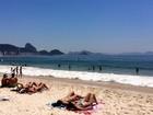 Rio tem sensação térmica de 45,6º C e previsão de chuva no fim da tarde