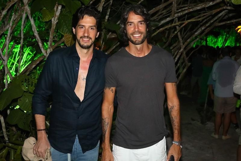 Arnaldo e Andre Diniz (Foto: André Ligeiro)