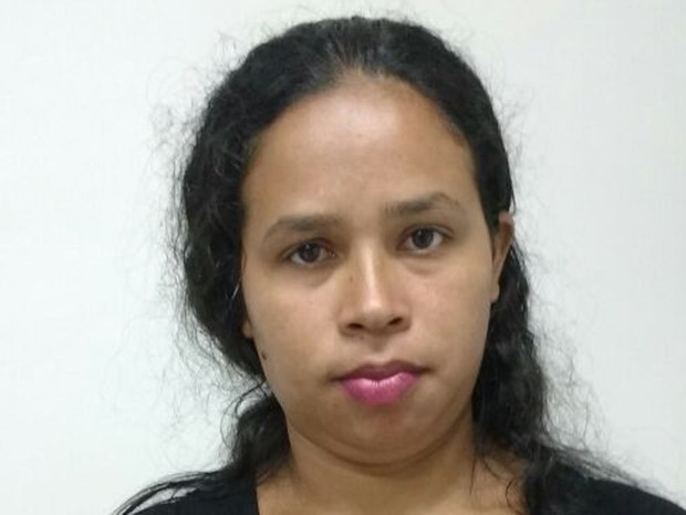 Alene da Silva dos Santos é suspeita de participar de saidinha bancária em agência do BB em São Luís (MA) (Foto: Divulgação/Polícia Civil)