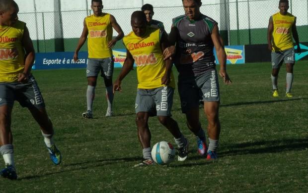 Treinamento da Cabofriense, Abedi (Foto: Andreia Maciel / Divulgação)