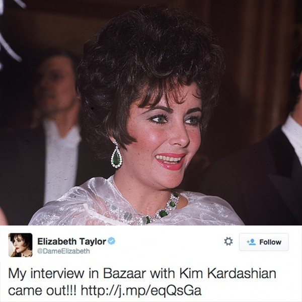 Elizabeth Taylor (Foto: Getty Images/Twitter)