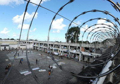 A Bahia é um dos Estados com déficit de vagas em presídios (Foto: Marcello Casal Jr./ABr )