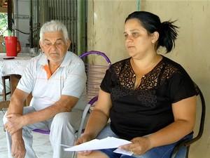 Paciente reclama da falta de medicamentos no Hospital Geral de Palmas (Foto: Reprodução/TV Anhanguera)