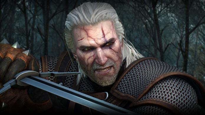 Geralt e The Witcher 3 levaram mais um prêmio de Melhor Jogo de 2015 (Foto: Divulgação/CD Projekt RED)